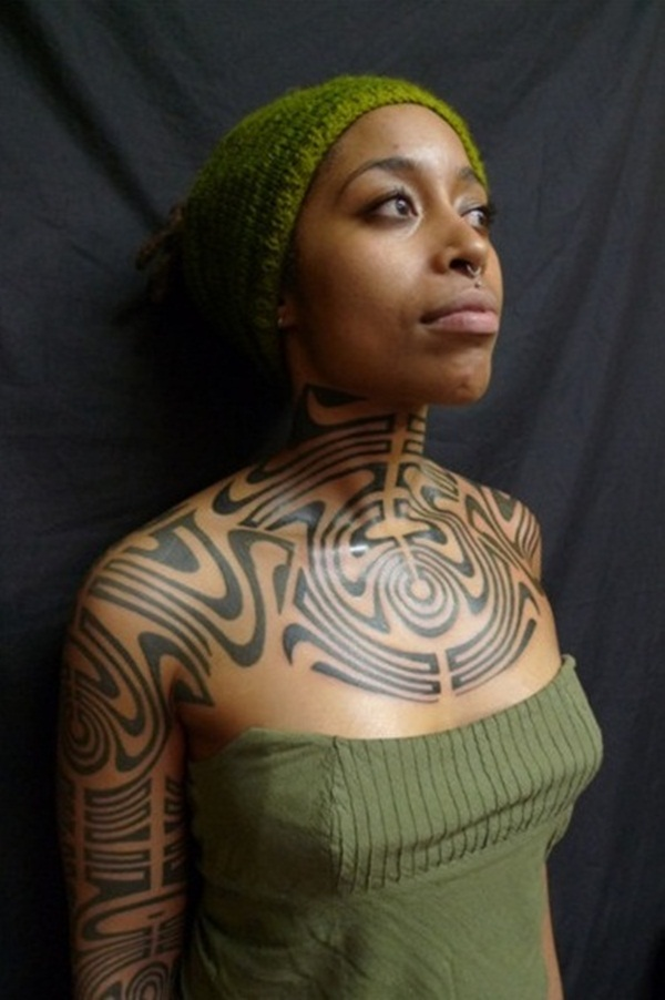 12 Magnificent African Tribal Tattoos | Only Tribal