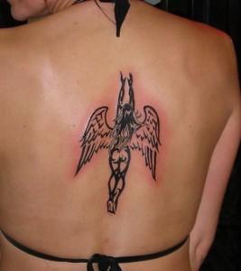 Angel Tattoo Tribal