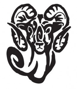 Aries Tribal Tattoo Images