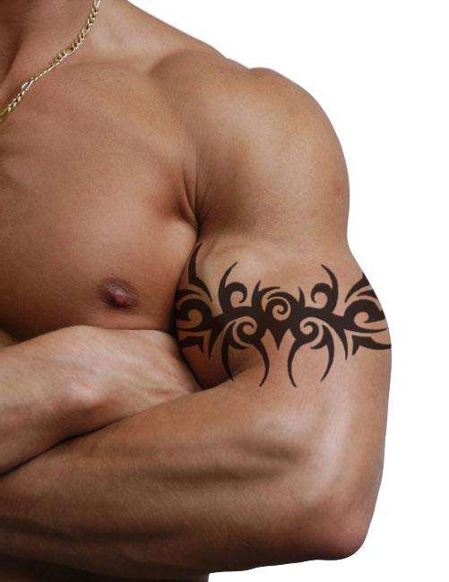 b6ede4b7a 20 Awesome Tribal Band Tattoos