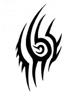 Chest Tribal Tattoo Designs