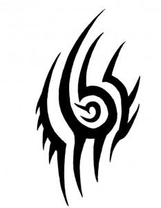 Chest Tribal Tattoo Designs