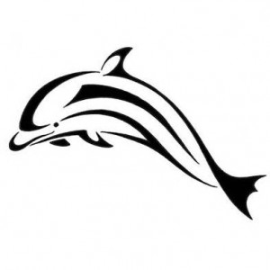 Dolphin Tribal Tattoo