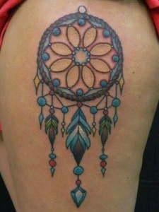 Dreamcatcher Tribal Tattoos