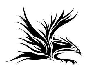 Eagle Tribal Tattoo Designs