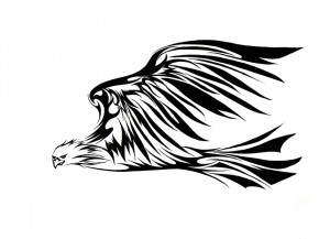 Eagle Tribal Tattoos