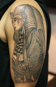 Egyptian Tribal Tattoo
