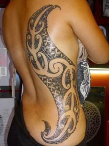 Feminine Polynesian Tribal Tattoos