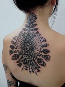 Feminine Tribal Tattoo Designs