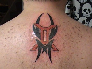 Gemini Tattoo Tribal