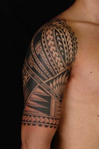 Half Sleeve Tribal Tattoos