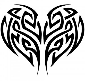 Heart Tattoo Tribal