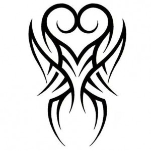 Heart Tribal Tattoo