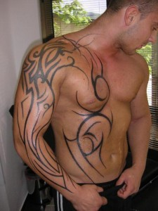 Images of The Rock Tribal Tattoo