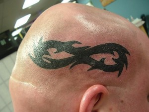 Infinity Tribal Tattoos
