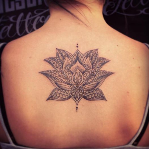 35 Stunning Lotus Flower Tattoo Design: 11 Beautiful Tribal Lotus Flower Tattoos