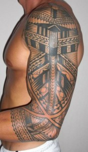 Maori Tribal Sleeve Tattoos