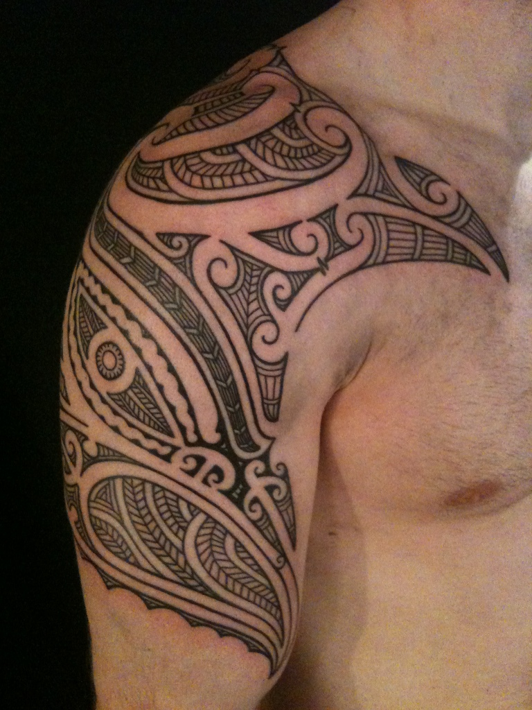 18 magnificent maori tribal tattoo only tribal. Black Bedroom Furniture Sets. Home Design Ideas