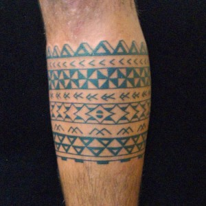Mayan Tribal Band Tattoos