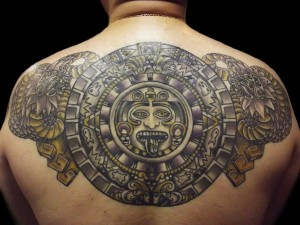 Mayan Tribal Tattoo