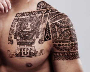 Mayan Tribal Tattoos