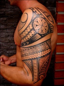 Mayan Tribal Tattoos Half Sleeve