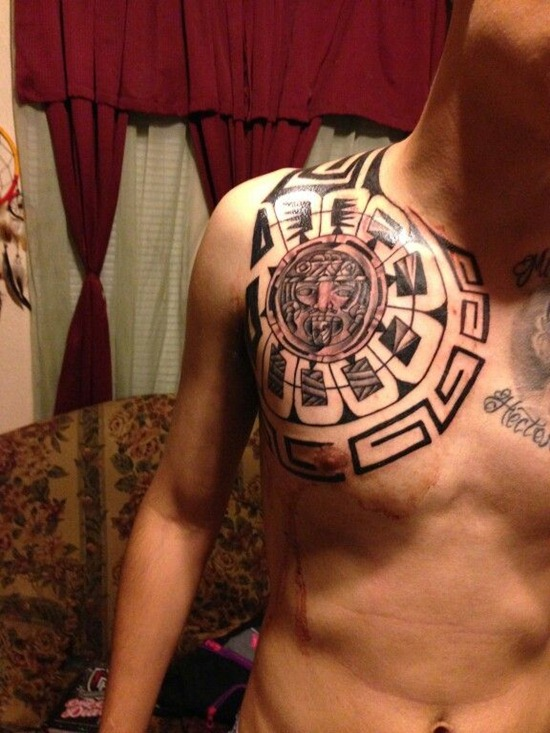 563d8f0b234c1 12 Awesome Mexican Tribal Tattoos
