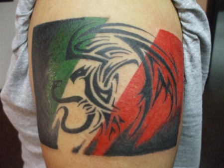 12 awesome mexican tribal tattoos only tribal rh onlytribal com mexican aztec tribal tattoos mexican tribal band tattoos