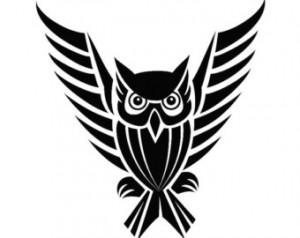 Owl Tribal Tattoo Designs