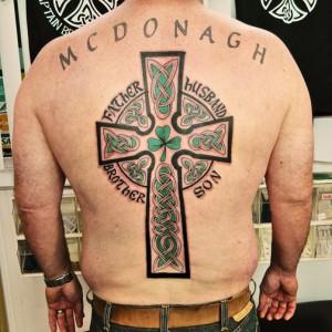 Pictures of Irish Tribal Tattoos