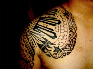 Pictures of Mayan Tribal Tattoos
