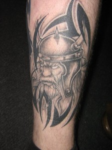 Pictures of Viking Tribal Tattoos