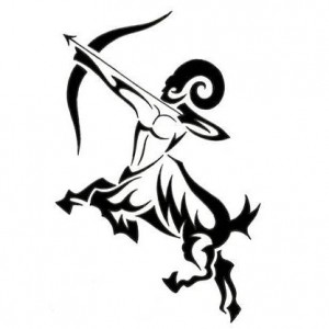 Sagittarius Tribal Tattoo Designs