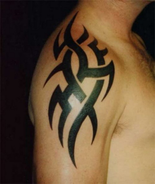 Tattoo For Men Com: 27 Beautiful Tribal Shoulder Tattoos