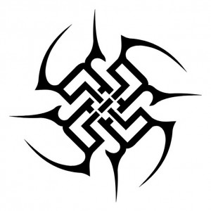 Simple Tribal Tattoo
