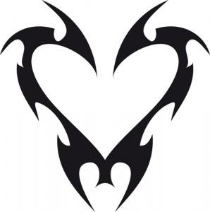 Simple Tribal Tattoo Design