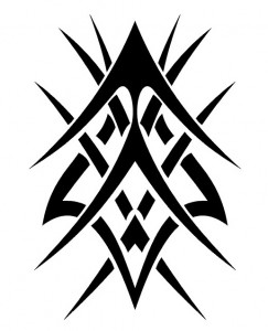 Simple Tribal Tattoos for Guys