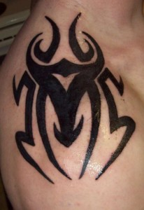 Simple Tribal Tattoos for Men