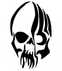 Skull Tribal Tattoos