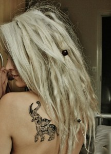 Small Tribal Animal Tattoos