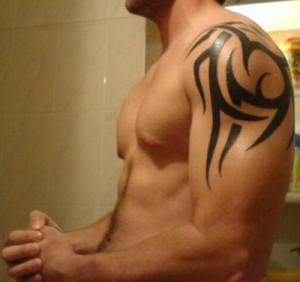 Small Tribal Arm Tattoos