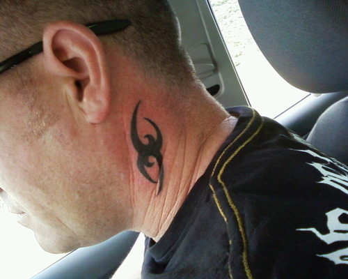 20 Beautiful Tribal Neck Tattoos Only Tribal