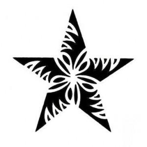 Star Tribal Tattoo