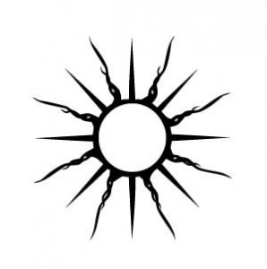 Sun Tattoo Tribal