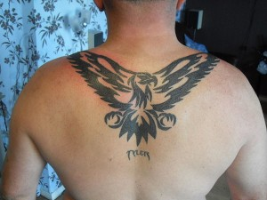 Tattoo Eagle Tribal