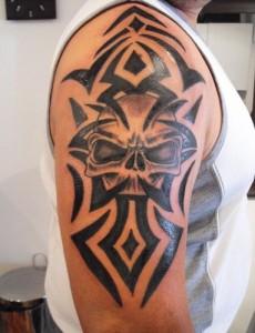 Tattoo Skull Tribal