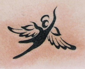 Tattoo Tribal Angel