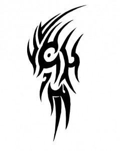 Tattoo Tribal Simple