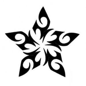 Tattoo Tribal Star