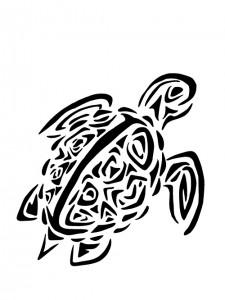Tattoo Turtle Tribal
